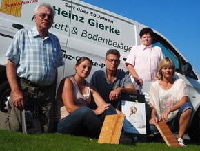 Teambild - Heinz Gierke Parkett und Bodenbeläge